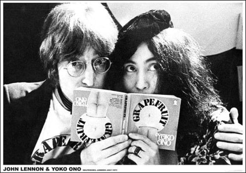 LENNON & ONO-Poster: PRESENTATION BOOK GRAPEFRUIT 1971