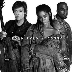 RIHANNA & KAYNE WEST & PAUL McCARTNEY: Single-CD FOUR FIVE SECON