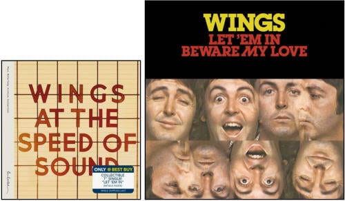 "PAUL McCARTNEY: ""Best Buy""-Package WINGS AT THE SPEED OF SOUND"