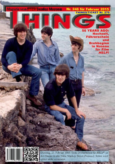 BEATLES-Magazin THINGS 246