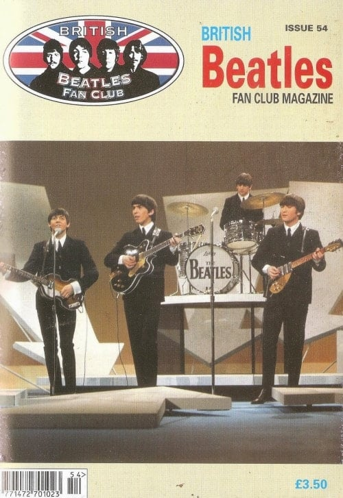 Fanmagazin BRITISH BEATLES FAN CLUB MAGAZINE - ISSUE 54
