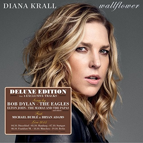 DIANA KRALL: CD WALLFLOWER (deluxe) mit McCARTNEY-Komposition
