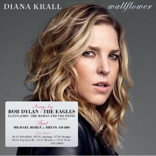 DIANA KRALL: CD WALLFLOWER mit McCARTNEY-Komposition