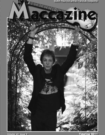 Magazin MACCAZINE - PAUL McCARTNEY TIMELINE 2011