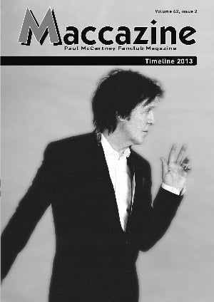 Magazin MACCAZINE - PAUL McCARTNEY TIMELINE 2013
