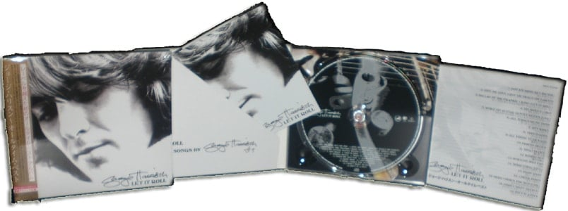 GEORGE HARRISON: Japan-CD LET IT ROLL
