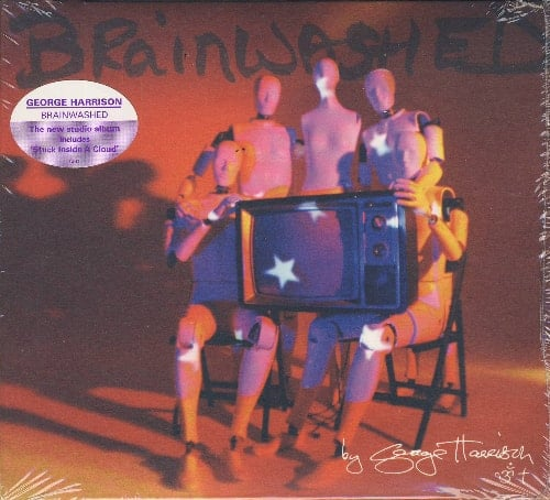 GEORGE HARRISON: 2002er CD (digi pack) BRAINWASHED