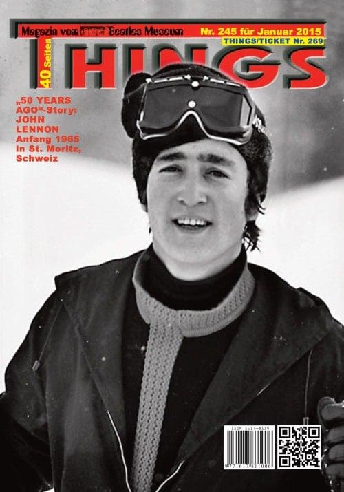 BEATLES-Magazin THINGS 245 Nachdruck