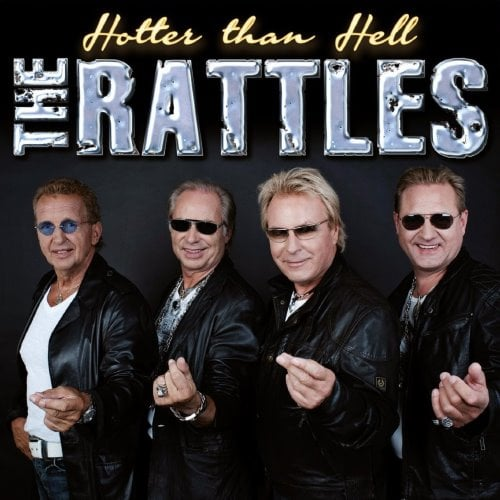 "RATTLES: CD HOTTER THAN HELL mit ""Hey Jude"""