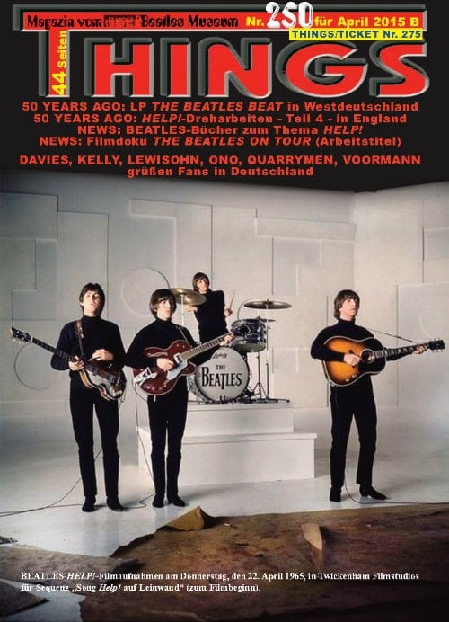 BEATLES-Magazin THINGS 250
