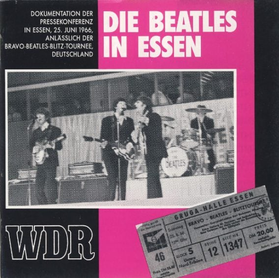 Interview-CD DIE BEATLES IN ESSEN