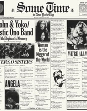JOHN LENNON: 2015er Doppel-Vinyl-LP SOME TIME IN NEW YORK CITY