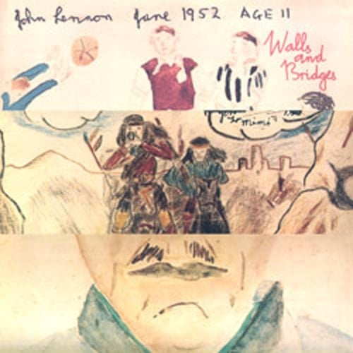 JOHN LENNON: 2015er Vinyl-LP WALLS AND BRIDGES