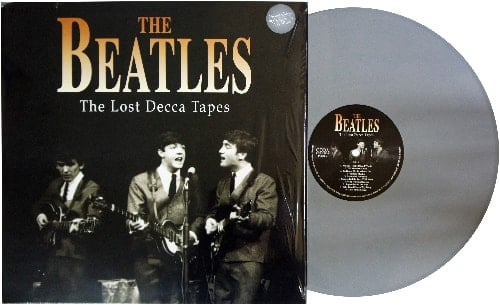 BEATLES: Grey-Vinyl-LP THE LOST DECCA TAPES