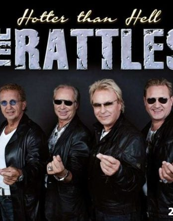 """THE RATTLES: Doppel-LP HOTTER THAN HELL mit """"Hey Jude"""""""
