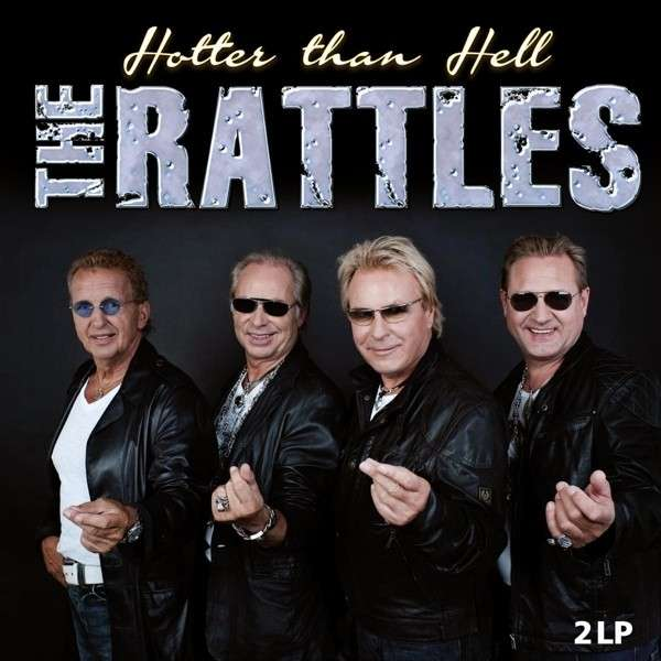 "THE RATTLES: Doppel-LP HOTTER THAN HELL mit ""Hey Jude"""