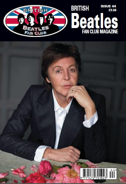 Fanmagazin BRITISH BEATLES FAN CLUB MAGAZINE - ISSUE 44