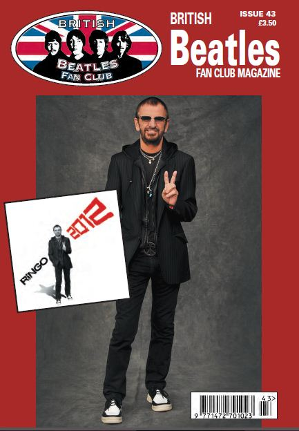Fanmagazin BRITISH BEATLES FAN CLUB MAGAZINE - ISSUE 43