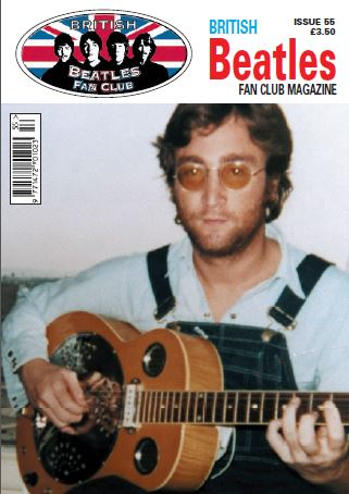 Fanmagazin BRITISH BEATLES FAN CLUB MAGAZINE - ISSUE 55