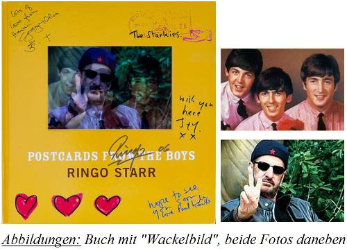 RINGO STARR: Buch POSTCARDS FROM THE BOYS
