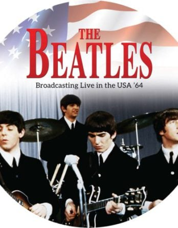 BEATLES: Picture-Vinyl-LP BROADCASTING LIVE IN THE USA '64