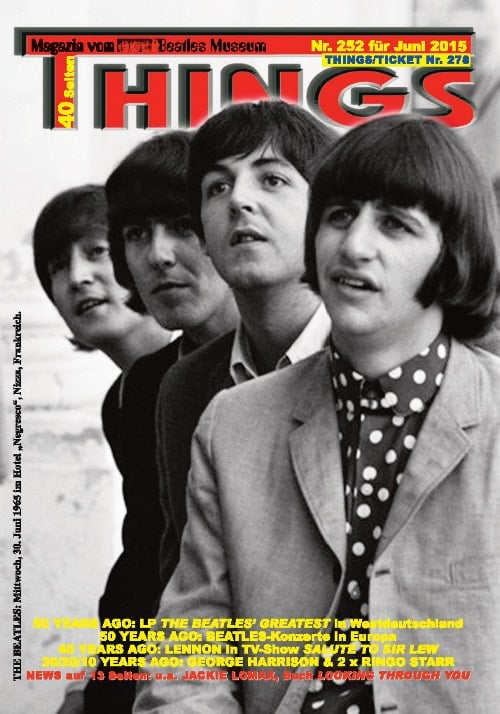 BEATLES-Magazin THINGS 252