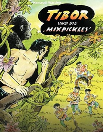 Comic-Buch TIBOR UND DIE MIXPICKLES mit BEATLES-Bezug