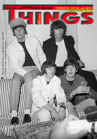 BEATLES-Magazin THINGS 253