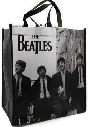 BEATLES-Shopperbag THE BEATLES IN LONDON 2ND JULY 1963