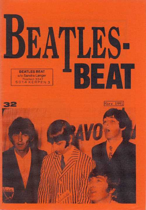 Deutsches Heft BEATLES-BEAT 32