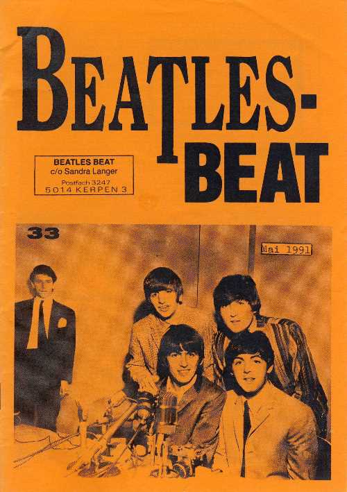 Deutsches Heft BEATLES-BEAT 33