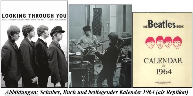 BEATLES-Buch LOOKING THROUGH YOU im Schuber