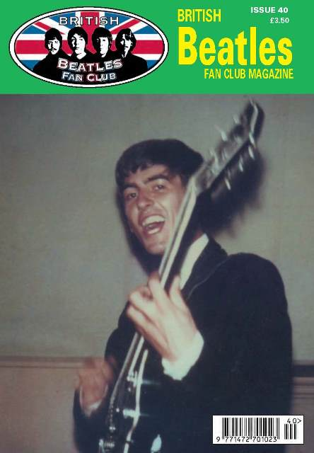 Fanmagazin BRITISH BEATLES FAN CLUB MAGAZINE - ISSUE 40
