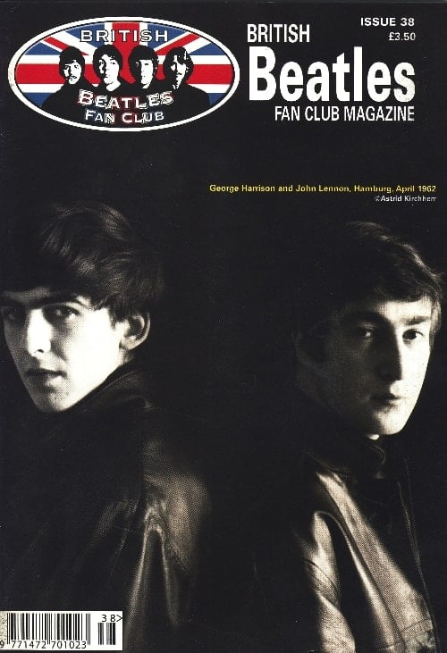 Fanmagazin BRITISH BEATLES FAN CLUB MAGAZINE - ISSUE 38