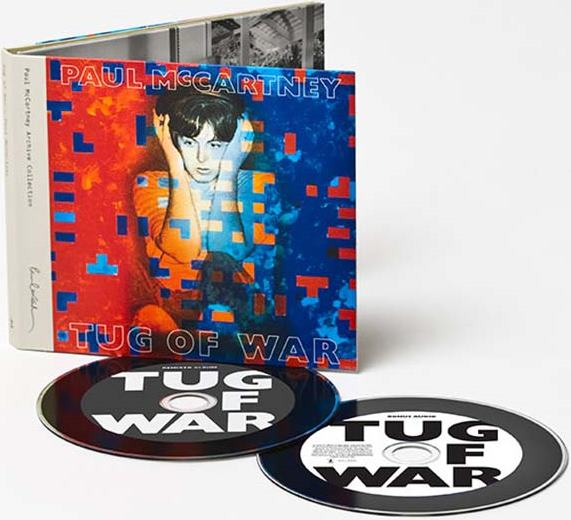 PAUL McCARTNEY: 2015er Doppel-CD TUG OF WAR