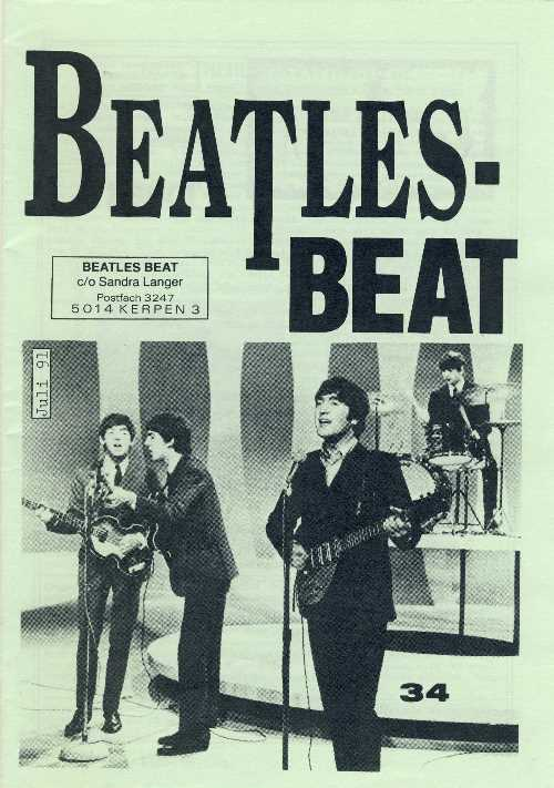 Deutsches Heft BEATLES-BEAT 34