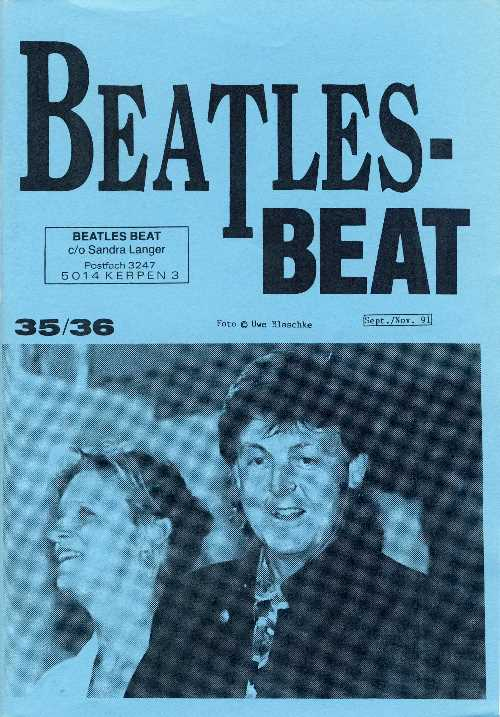 Deutsches Heft BEATLES-BEAT 35 / 36
