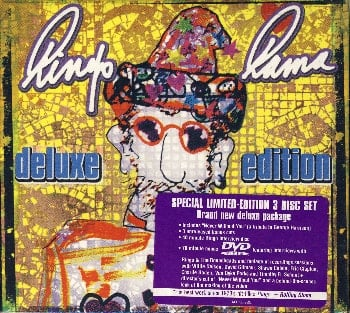 RINGO STARR: Doppel-CD & DVD RINGO RAMA DELUXE EDITION