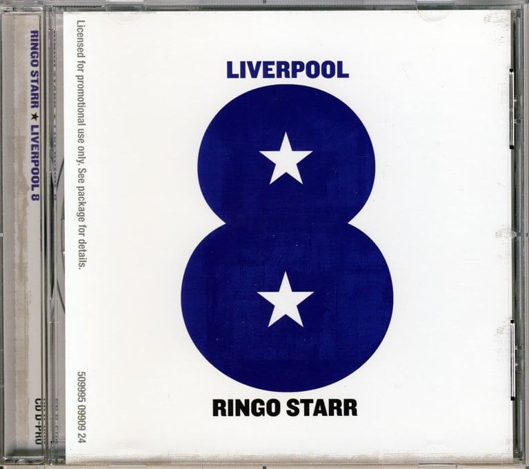 RINGO STARR  Promo-Single-CD LIVERPOOL 8