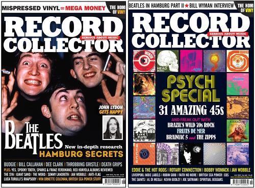 Zwei Zeitschriften/magazines RECORD COLLECTOR 441 & 442