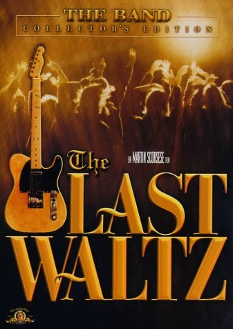 THE BAND: DVD THE LAST WALTZ mit RINGO STARR