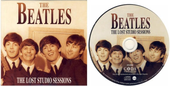 BEATLES: CD (card sleeve) THE LOST STUDIO SESSIONS