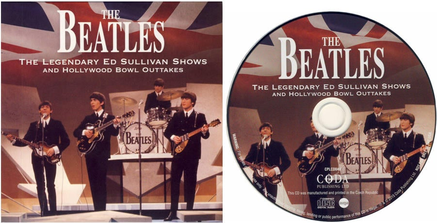 BEATLES: CD (card sleeve) THE LEGENDARY ED SULLIVAN SHOWS