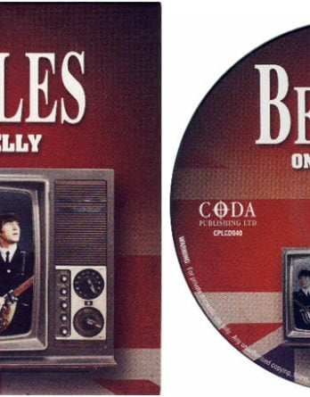 BEATLES: CD (card sleeve) THE BEATLES ON THE TELLY - BLACKPOOL &