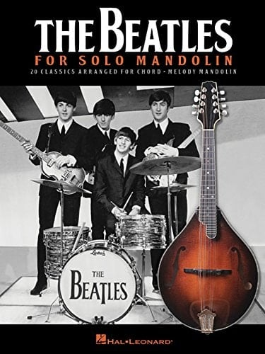 BEATLES-Notenbuch THE BEATLES FOR SOLO MANDOLIN