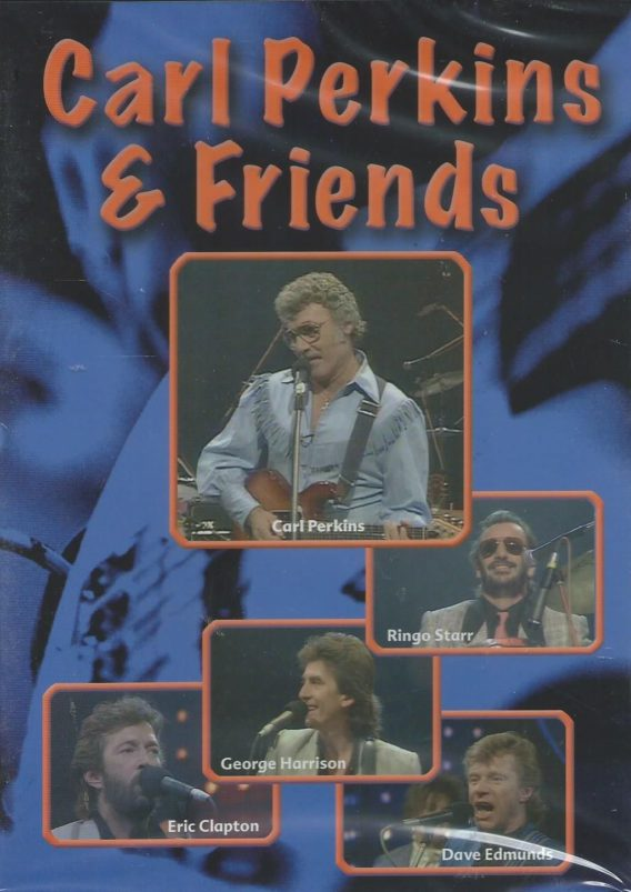 CARL PERKINS & FRIENDS: DVD CARL PERKINS & FRIENDS