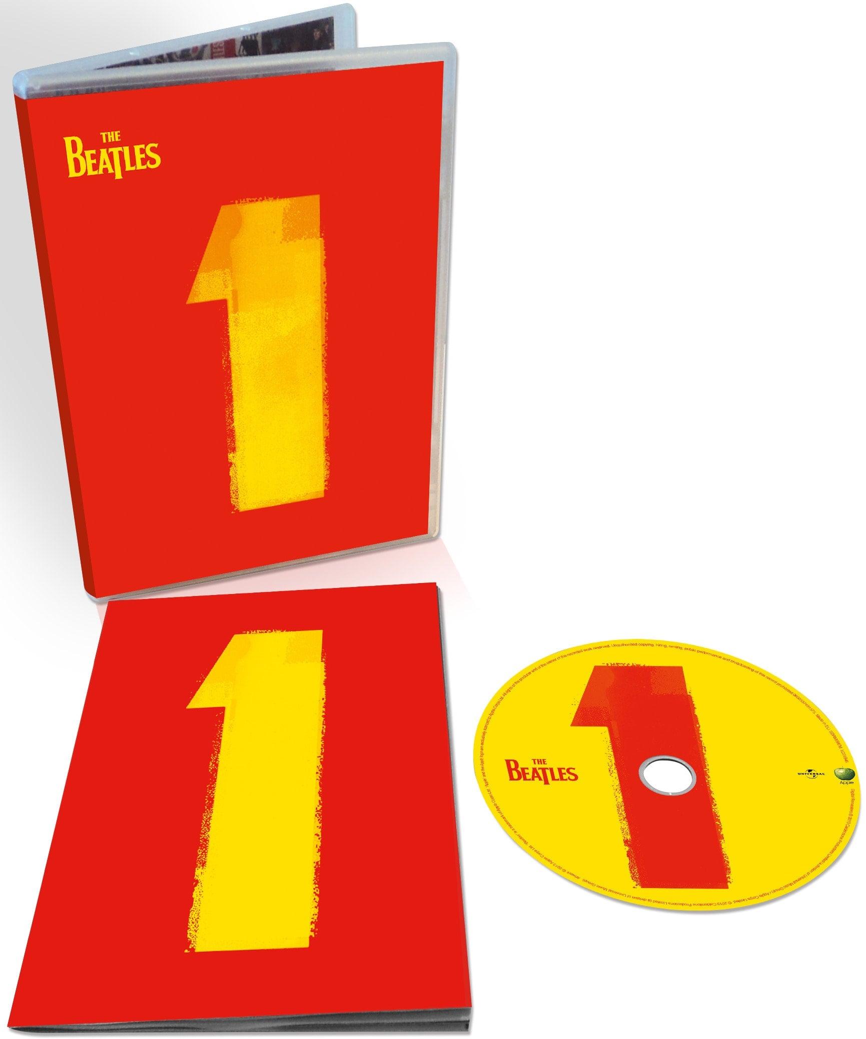 BEATLES: 2015er DVD ONE - 27 Promofilme