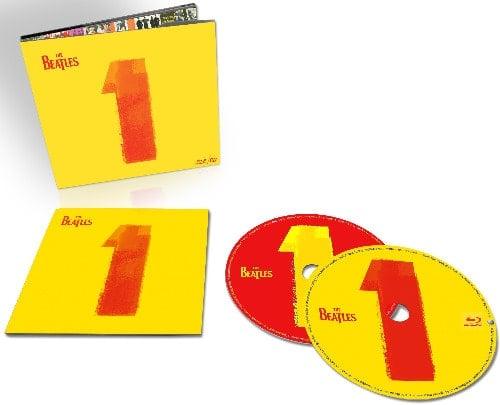 BEATLES: 2015er CD+Blu-ray ONE - 27 Songs zum Hören und Sehen