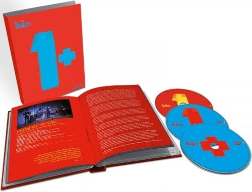 BEATLES: 2015er CD+Doppel-DVD ONE - 27 Audios, 50 Videoclips