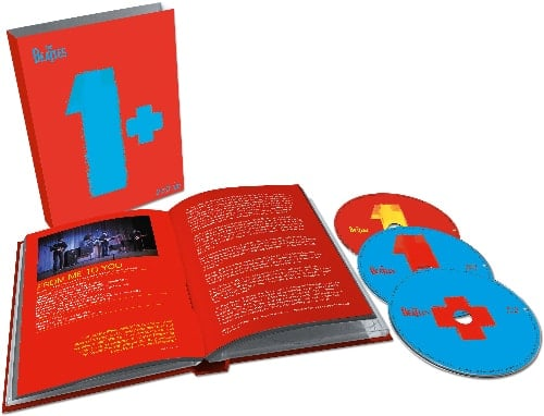 BEATLES: 2015er CD+Doppel-Blu-ray ONE - 27 Audios, 50 Videoclips